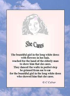 My Poem - She Cares