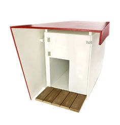 Modern dog house by Tap Architecture. Miles wants a welcome mat to wipe his paws on.