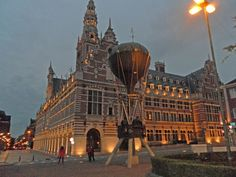 Lovaina (Universidad) http://maleta-en-mano.blogspot.com.es/2016/02/lovaina-la-desconocida-belga.html