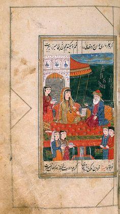 Miniature from the manuscript 'Divan'