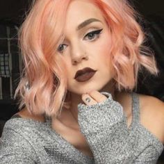 New Hair Color Inspirations for Bob . Dye My Hair, New Hair, Blorange Hair, Cheveux Oranges, Pretty Hairstyles, Crazy Hairstyles, Short Haircuts, Fashion Hairstyles, Hairstyles Pictures