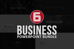 Business Powerpoint Bundle by Dedijuniadi on Creative Market