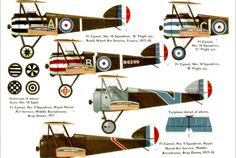 Sopwith Camels of the British Royal Navy