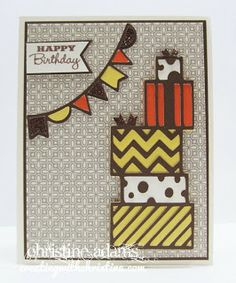 Creating with Christine: Babycakes Cards