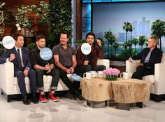 Entourage's Kevin Connolly, Kevin Dillon, Jerry Ferrara and Adrian Grenier Play Never Have I Ever?Watch Now! | E! Online Mobile