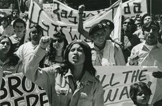 The Brown Berets. The meaning of Chicano Power is rooted in the civil rights movement. In the 60s Chicanos and Blacks marched the streets shouting Chicano Power and Black Power. They sought to challenge the status quo and build power within their communities. Chicano Power therefore means the continuance of seeking freedom, prosperity, and peace for Chicano people.