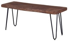 The Organic Bench from LH Imports is a unique home decor item. LH Imports Site carries a variety of Organic items.