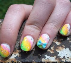 Spotlight On: Spring Nail Art and Looks With nearly forty different nail looks, I think there's more than enough inspiration in this post if you haven't al
