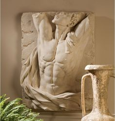 Find Design Toscano The Torso Adonis Bas-Relief Wall Frieze online. Shop the latest collection of Design Toscano The Torso Adonis Bas-Relief Wall Frieze from the popular stores - all in one Metal Wall Decor, Wall Art Decor, Faux Stone, Greek Gods, Wall Sculptures, Plaster Sculpture, Sand Sculpture, Sculpture Ideas, Decorative Pillows