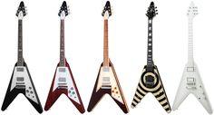 ギブソン・フライングVは、「ギターのボディは、ひょうたん型や丸型をベースとしなくてもいい」という前例を作ることとなった、歴史上極めて意義深いギターです。