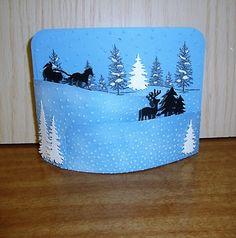 Sleigh ride with You by stampin Pad - Cards and Paper Crafts at Splitcoaststampers