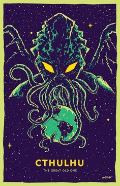 Cthulhu illustration by Matt Talbot