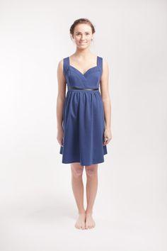 Vintage Blue Maternity Dress by alicebmaternity on Etsy, €89.00