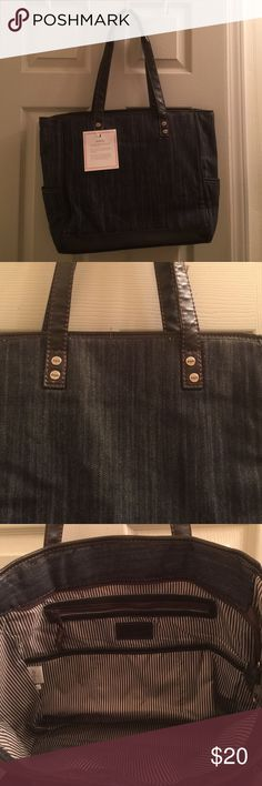 Thirty-one Tweed Cindy Tote Brown and black tweed tote bag. Perfect for teachers, students or for work. Thirty-one Bags Totes