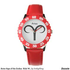 Aries Sign of the Zodiac  Kids Watches. Wrist Watches