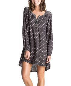 Loving this Charcoal Micro Diamond Farther Dress on #zulily! #zulilyfinds