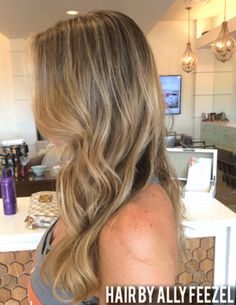 BRONDE HAIR BY ALLY FEEZEL