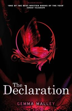The Declaration --the first book in an amazing trilogy about biotechnology gone too far.