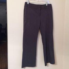 Grey Dress Pants Grey stretch dress pants. 28 inch inseam Rafaella Pants Boot Cut & Flare