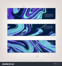 Vector Ink texture watercolor hand drawn marbling illustration, abstract background, aqua print.  Template for sail, wedding invitations (save date), invitation, envelope, valentine, card design