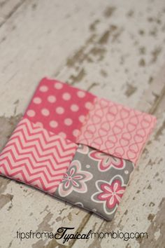 How to make your own Pad Pouch