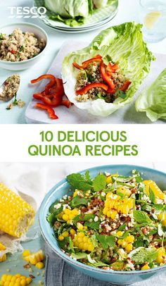 A hugely versatile grain, quinoa has a distinctive nutty flavour and a crunchy texture. It's delicious in salads, added to porridge and even incorporated into cakes and puddings. Give it a try with one of our delicious quinoa recipes. | Tesco
