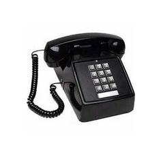 The Cortelco Desk No-Dial Corded Telephone Black includes 9 ft. handset cord and offers analog transmission type. It is a fully modular and no dial desk telephone. Telephone Line, Vintage Telephone, Refurbished Phones, Old Cell Phones, Retro Phone, Vintage Phones, Electronic Recycling, Home Phone, Landline Phone