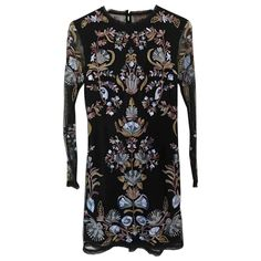 Mini dress Free People Multicolour size 8 UK in Synthetic - 5989563 Free People Dress, Luxury Consignment, Designer Dresses, Dress Outfits, Bodycon Dress, High Neck Dress, Clothes For Women, Mini, Collection