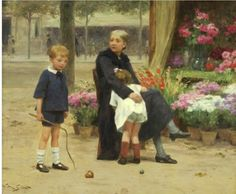 The Athenaeum - The naughty brother (Victor Gabriel Gilbert - )