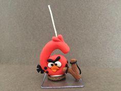 Vela decorada angry birds