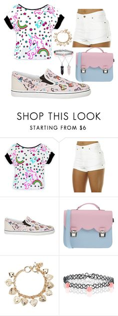 """Unicorns"" by queenalisa on Polyvore featuring Zulu & Zephyr, Sophia Webster, La Cartella, Forever 21, Accessorize, Bling Jewelry, women's clothing, women's fashion, women and female"