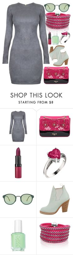 """What You Wanna Do"" by egordon2 on Polyvore featuring Rimmel, RetroSuperFuture, Acne Studios, Essie and Sif Jakobs Jewellery"