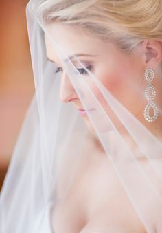 Beautiful veil shot