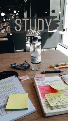 Creative Instagram Stories, Instagram And Snapchat, Instagram Story Ideas, School Organization Notes, Study Organization, Study Motivation Quotes, School Study Tips, Study Hard, Study Notes