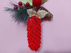 Thread Crochet, 4th Of July Wreath, Snowflakes, Diy, Christmas Ornaments, Holiday Decor, Youtube, Christmas Staircase, Shapes