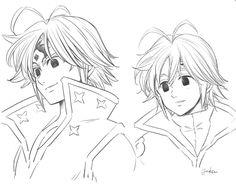 Elizabeth Seven Deadly Sins, Seven Deadly Sins Anime, 7 Deadly Sins, Manga Anime, Anime Art, Digimon, Meliodas And Elizabeth, Seven Deady Sins, Dope Wallpapers