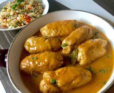Wiejskie roladki drobiowe - Blog z apetytem Meatball Recipes, Chicken Recipes, Tasty, Yummy Food, Cooking Recipes, Healthy Recipes, Polish Recipes, Chicken Wings, Main Dishes