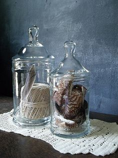 displaying in apothecary jars | Add it to your favorites to revisit it later.