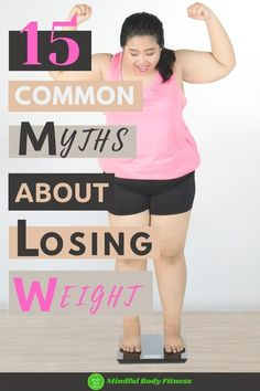 15 Common Myths About Losing Weight: separating weight loss myths from facts can be tricky. Some of the biggest myths about losing weight can be easy to fall for. There are lots of weight loss myths that will actually set you back and in this article, we'll be busting 15 of the biggest weight loss myths. #healthandfitnessmyths #mythsofweightloss #weightlossmythsdebunked #myths #loseweight Weight Loss Goals, Best Weight Loss, Weight Loss Motivation, Healthy Weight Loss, Weight Loss Journey, Lose Weight In A Week, Diet Plans To Lose Weight, How To Lose Weight Fast, Losing Weight