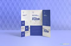 This 3 Fold Brochure Mockups PSD Presentation your artwork designs. This mockup includes smart object layer use to add your design and show your designs