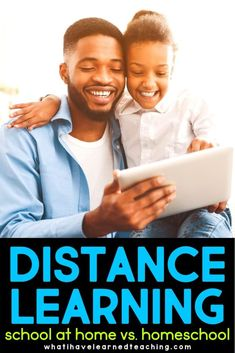 What is Distance Learning - School at Home vs. What Is Homeschooling, Benefits Of Homeschooling, Teaching Second Grade, First Grade Teachers, Third Grade, Fourth Grade, School Closures, Learning Objectives, Home Learning