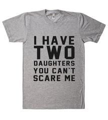 i have a beautiful daughter, i also have agun a shovel and an alibi daddy father t-shirt