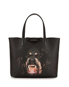 Antigona Rottweiler Small Coated Canvas Shopping Tote Bag by Givenchy at Neiman Marcus. $995