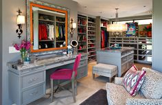 25 Contemporary Walk-in Closets Every Woman Dreams to Own