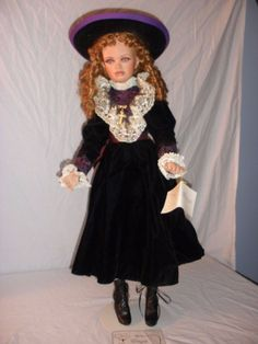 Exclusively Yours Jan McLean MARIA 31  Porcelain Doll 212/500