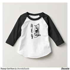 Funny Cat Face Baby Tee Available on many products! Hit the 'available on' tab near the product description to see them all! Thanks for looking!  @zazzle #art #cute #cartoon #funny #cat #humor #fun #drawing #digital #black #sweet #nice #friend #baby #toddler #boy #girl #mom #expecting #shower #clothes #fashion #style #apparel #tee #tshirt #hoody #sweatshirt #shop #gift #idea #shopping #buy #sale