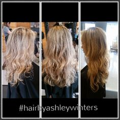 A little can go a long way! Blondes have to accept it's a lot of up keep to make their hair look fresh! But remember a little can go a long way! This touch up was 10 foils! #chambersburg #marion #redken #hilights #blonde #2k15 #btcpics #modernsalon #hairbyashleywinters @rootshairdesign #717-375-2130