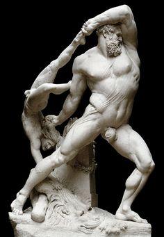 Antonio Canova (1757-1822) - Hercules and Lichas (1815)