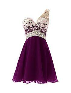 Dresstells® One Shoulder Homecoming Dress with Beadings Short Bridesmaid Dress Grape Size 8 Dresstells http://www.amazon.com/dp/B00MM4Q1KU/ref=cm_sw_r_pi_dp_pM.Lvb0FCTKJM