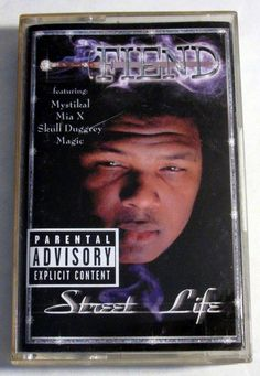 "Fiend ""Street Life"" Music Cassette Tape 1999 Priority Records #Southern"